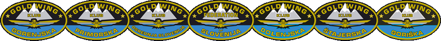 GOLD WING ZVEZA SLOVENIJE – GOLD WING FEDERATION of SLOVENIA – MEMBER of GWRRA